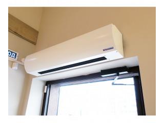 Выбираем тепловую завесу по техническим характеристикам