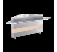 Модуль нейтральный ATESY Ривьера - поворотный модуль ВНЕШНИЙ (б/н) 90° цвета