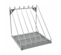 Полка для сушки тарелок МЕТАЛЛПРОЕКТ ПНК 6 для хранения крышек