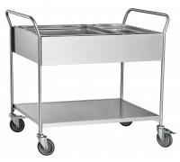 Тележка для сбора посуды Чувашторгтехника (Abat) ТС-100