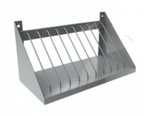 Полка для сушки тарелок МЕТАЛЛПРОЕКТ ПНД-6 для хранения досок