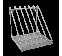 Полка для сушки тарелок МЕТАЛЛПРОЕКТ ПНК 10 для хранения крышек