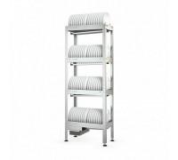 Стеллаж кухонный ATESY Стеллаж для тарелок СКТ-С- 950-02-Н (СКТ-1/950)