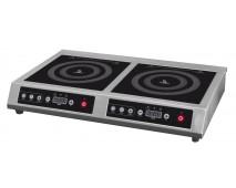 Плита индукционная Airhot IP7000D двухконфорочная