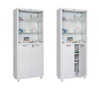 Медицинский шкаф для медикаментов HILFE МД 2 1670/SG