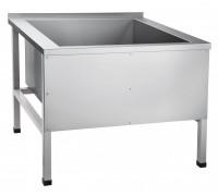 Ванна моечная Чувашторгтехника (Abat) ВМП-9-1 (каркас крашеный)