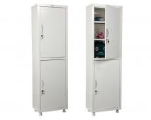 Медицинский шкаф для медикаментов HILFE МД 1 1650/SS