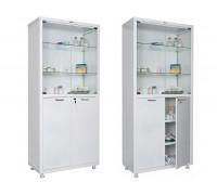Медицинский шкаф для медикаментов HILFE МД 2 1780/SG
