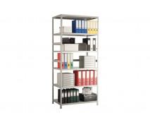 Стеллаж металлический MS Standart 185/100x30/4