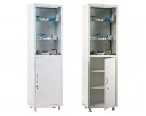 Медицинский шкаф для медикаментов HILFE МД 1 1650/SG