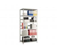 Стеллаж металлический MS Standart 185/100x60/4