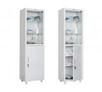 Медицинский шкаф для медикаментов HILFE МД 1 1657/SG