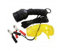 UV набор для поиска утечек - лампа 50 Вт, 12V + очки UVAL