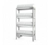 Стеллаж кухонный ATESY Стеллаж для тарелок СКТ-С-1200-02-Н (СКТ-1/1200)
