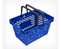 Корзина покупательская пластиковая с 2 ручками, 20 л, CLASSIK