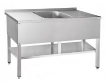 Стол для мойки овощей Чувашторгтехника (Abat) СМО-6-4 РН