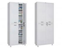Медицинский шкаф для медикаментов HILFE МД 2 1670/SS